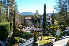Chateau De Sureau. Oakhurst, CA.  Stayed here a couple of times, so amazing!!!!