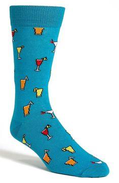 Is it 5 o'clock yet? Topman 'Happy Hour' Socks