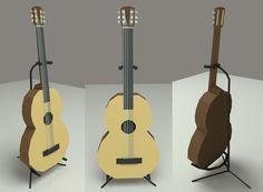 #FretlessGuitar  #3D #Blender #guitar #lowpoly
