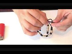 como hacer las pulseras de nudo franciscano parte 2