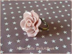 Bague Rose - Vieux Rose
