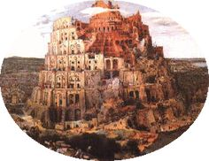The Tower of Babel Turm Von Babylon, Issue Tracker, Language Dictionary, Tower Of Babel, B Words, World Languages, Interactive Map, Decorative Bowls, Origins