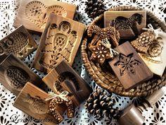 Lenka včelka: KDYŽ DOMOV VONÍ Dutch Cookies, Springerle Cookies, Butter Molds, Vintage Cookies, No Cook Desserts, Art Deco Furniture, Gingerbread Cookies, Cookie Cutters, Bakery