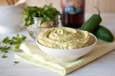 Jalapeno IPA Beer Hummus, another cooking with beer recipe from The Beeroness!