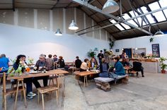 Sugarhouse Studios bar in Stratford is a lovely warehouse conversion with a cinema area, ping pong table and a romantic garden/terrace. They regularly host interesting events: a Cinema Club, DJ parties, supper clubs, theatre performances, talks etc.