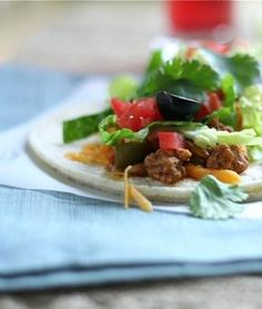 When I want a healthier taco and an easy dinner, this is an awesome option!