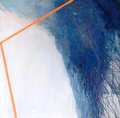 discharching - Peinture,  100x100x4 cm ©2013 par Joanna Sikorska -                                                                    Expressionnisme abstrait, Spiritualité, Paysage, Art abstrait, joannasikorska, painting, abstract, art