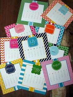 Marley Lilly calendar, want!