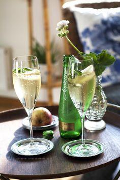 En frisk och fräsch drink som passar perfekt innan maten som aperitif.