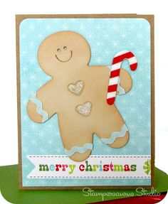 Gingerbread Man Holiday Card
