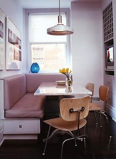 189 Best Casual Dining / Banquettes images   Dining room, Lunch room Banquette New York on