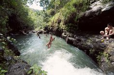 Waimano Falls and Pools - Aiea, HI | UnrealHawaii.com