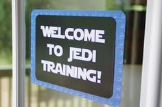 """Last year we had """"Super Hero Academy""""...  I suppose Jedi Training Camp is cool too."""