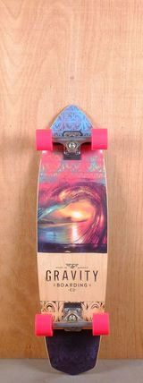 "Gravity 36"" Polynesian Dream Longboard Bottom"