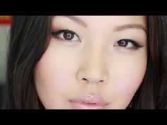 Quick Everyday Makeup for Asian Eyes + Favorite Drugstore Products Review - YouTube