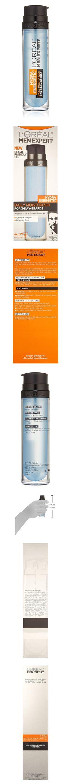 L'Oreal Paris Skin Care Men Expert Hydra Energetic 3 Day Beard Daily Moisturizer #beauty #lorealparis #electronics_features #electronics #lotions