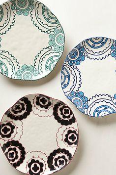 Gloriosa Dinner Plate - anthropologie.eu
