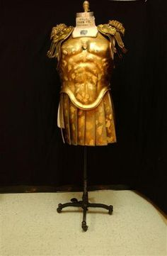 Roman Armor with Skirt - formed leather