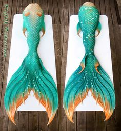Full Silicone Mermaid Tail by Finfolk Productions. Design based loosely on a Whale Shark.