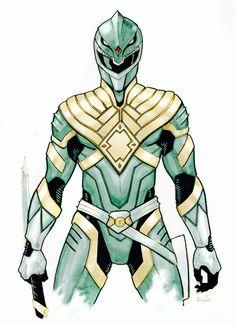 A more warrior version of the Green Ranger