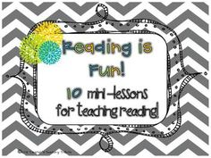 This is a packet of 10 lessons to use for teaching reading.  The lessons are very detailed but simple to teach! {teacher aides and volunteers w...