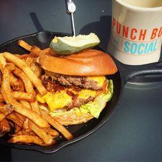 Punch Bowl Social - The American Burger