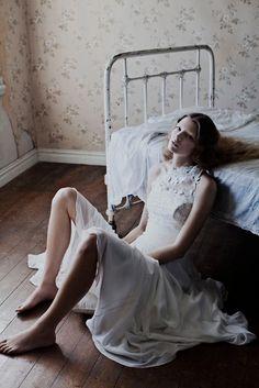 Model: Anne-Sofie List | Photographer: Katrine Rohrberg -  'True Romance' for Jesper Hovring Spring 2012 collection
