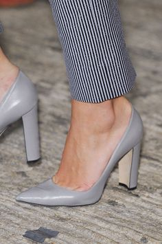 The 112 Best Shoes You Need to See From the London Spring 2014 Runways: If New York Fashion week is all sleek and high-brow, then London gets the rep as the fun city, dependable for turning out cheeky, cheery designs right down to the very bottom of things.