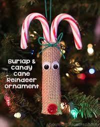 Resultado de imagen para burlap ornament ideas