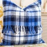 Fringed Throw Pillow Cover - On Sutton Place
