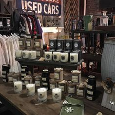 If your headed to the @thefactoryatfranklin for the Made South event. You will find our candles stocked @propsantiques #candles #holidaycandles #shoplocal #southernfirefly #southernfireflycandle #holidayseason