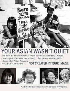 Your Asian wasn't quiet: Mari Matsuda, Yuri Kochiyama, Helen Zia and Grace Lee Boggs Asian American, American History, American Girls, Japanese American, British History, Asian History, Black History, Japanese History, Yuri Kochiyama
