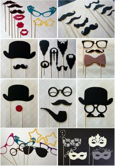 Photobooth Props! #photobooth