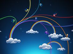 Rainbows (Wallpaper)