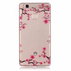 8b95240ce2a Aliexpress.com: Comprar Lujo flor suave TPU gel caso para Huawei P9 caso  cubierta, pintura IMD transparente contraportada para Huawei p9lite casos de  case ...