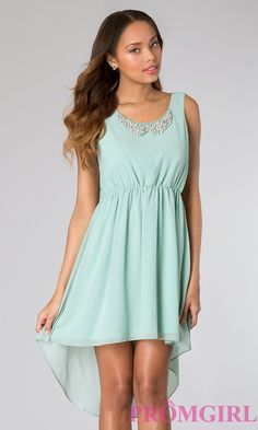 Short Homecoming Dress Style: LP-21831 Front Image