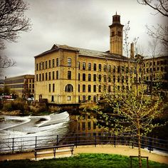 Saltaire (UNESCO World Heritage Site) - Yorkshire, England  Try the #Yorkshire…