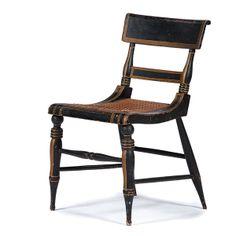 Baltimore Klismos Side Chair (4/12/2014 - Americana: Live Salesroom Auction)