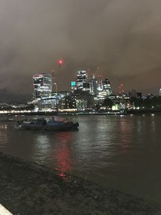 Thames River #london #night