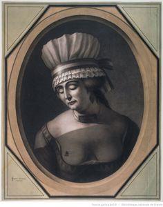 Femme suranée : [dessin] / [Jean-Jacques Lequeu]   Gallica
