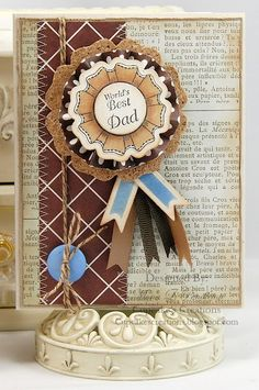 JustRite Father's Day Card designed by Mona Pendleton.