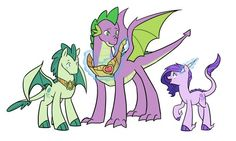 Grown up spike is awesome!