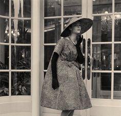 Yves Saint Laurent for Dior, 1958