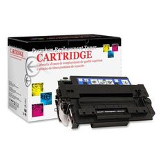 West Point Products Toner Cartridge, 6500 Page Yield, Black