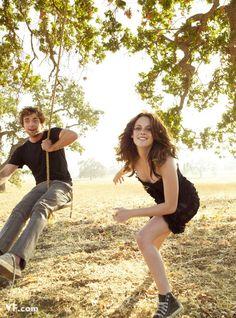 Robert Pattison & Kristen Stewart