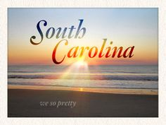 I would love to visit South Carolina someday. Preferably one of the smaller towns.