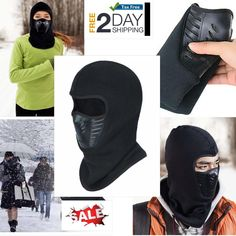 Balaclava Tactical Motorcycle Cycling Outdoor Ski Warm Scarf Neck Full Face  Mask  2eff1ca6e