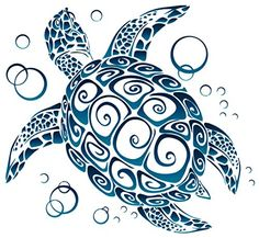 Turtle Tattoos Polynesian And Hawaiian Tribal Turtle