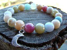 Bracelet. Bead Bracelet. Charm Bracelet. Gemstone Bracelet.