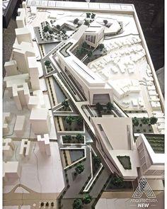 33 ideas for landscape design plans hospital Urban Architecture, Concept Architecture, Futuristic Architecture, School Architecture, Archi Design, Landscape Design Plans, Arch Model, Urban Planning, Modern Buildings